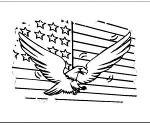 4th july coloring page for kids