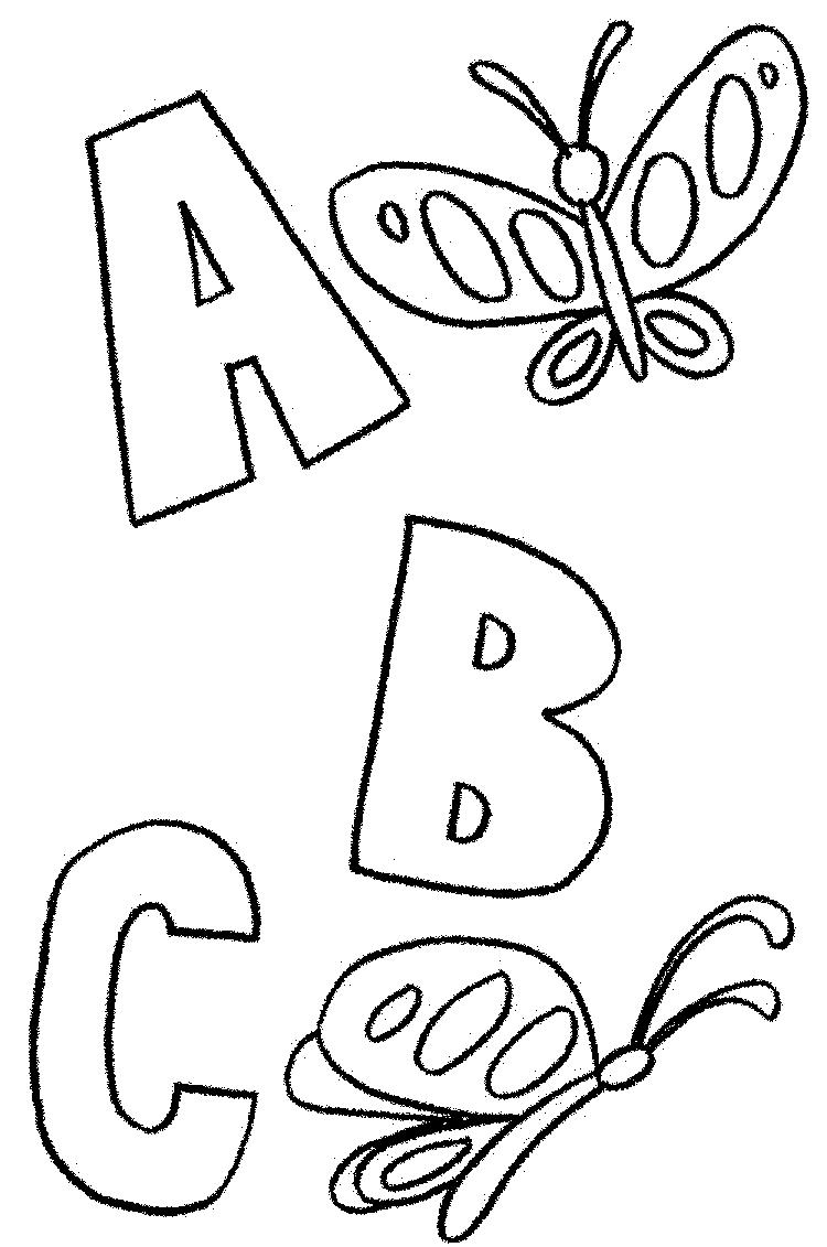 Abc Animals Coloring Pages Kindergarten 1