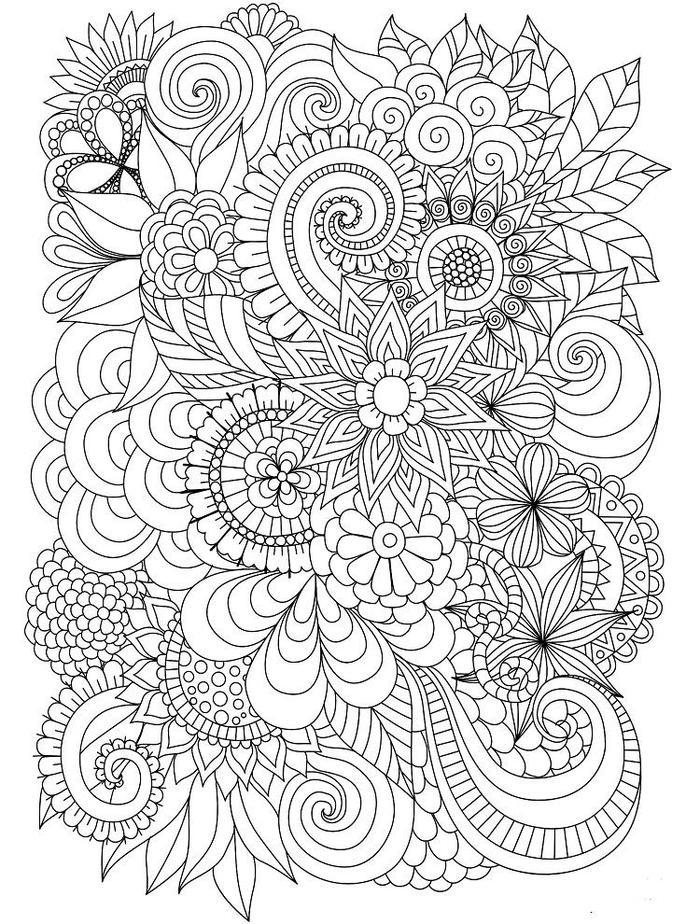 Abstract Coloring Pages Pdf