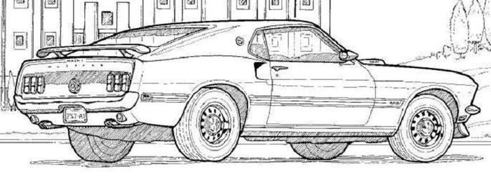 Adult Race Cars Coloring Pages