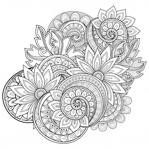 Advanced Coloring Pages Paisley