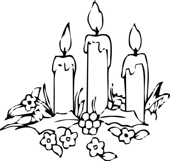 Advent Wreath Coloring Book