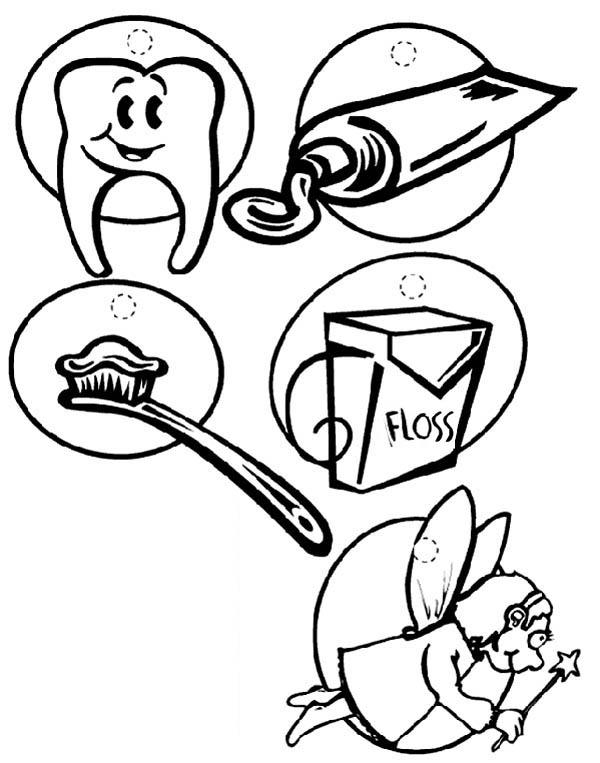All About Dentist Coloring Pages