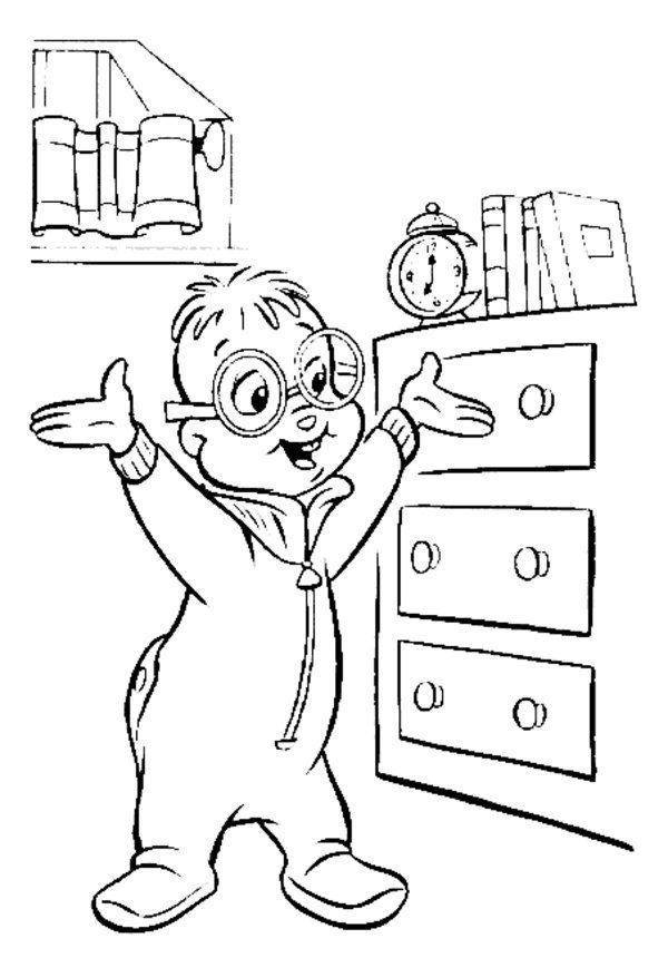 All Alvin And The Chipmunks Coloring Pages