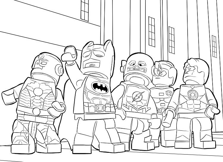 All Lego Coloring Pages