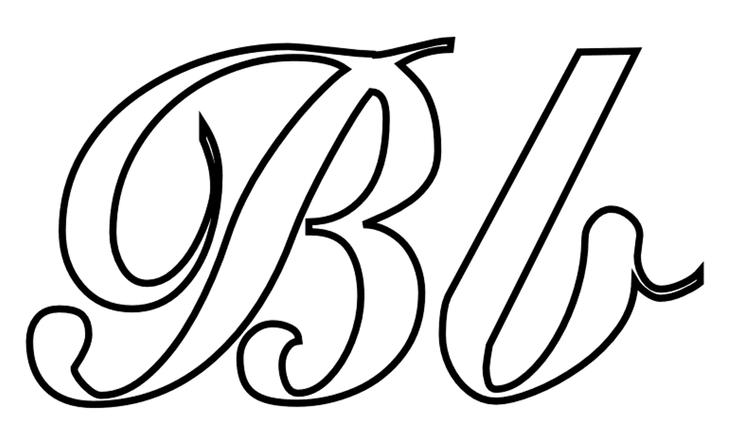Alphabet Coloring Pages B Word Free