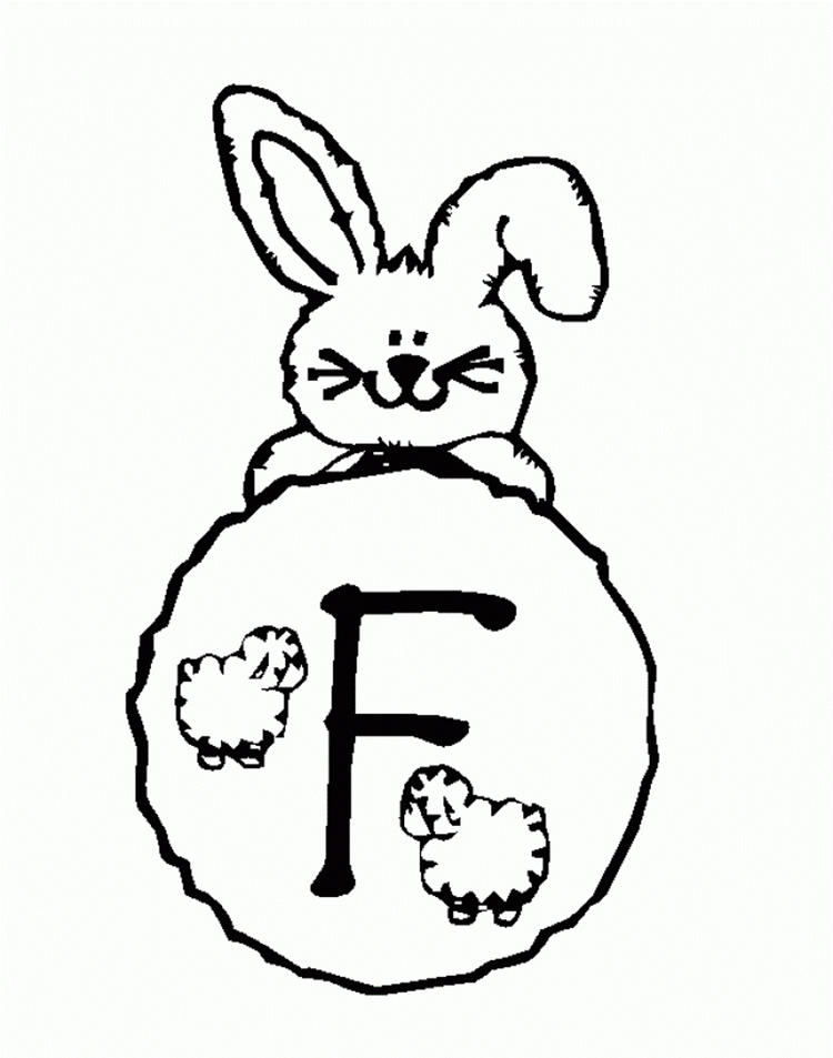 Alphabet Coloring Pages Free For Kids Printable