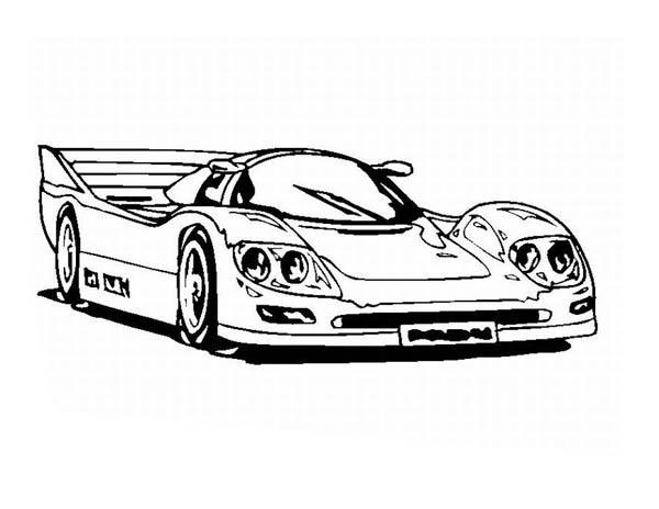Amazing Classic Cars Coloring Pages