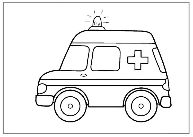 Ambulance Free Coloring Pages Noticeable Colouring