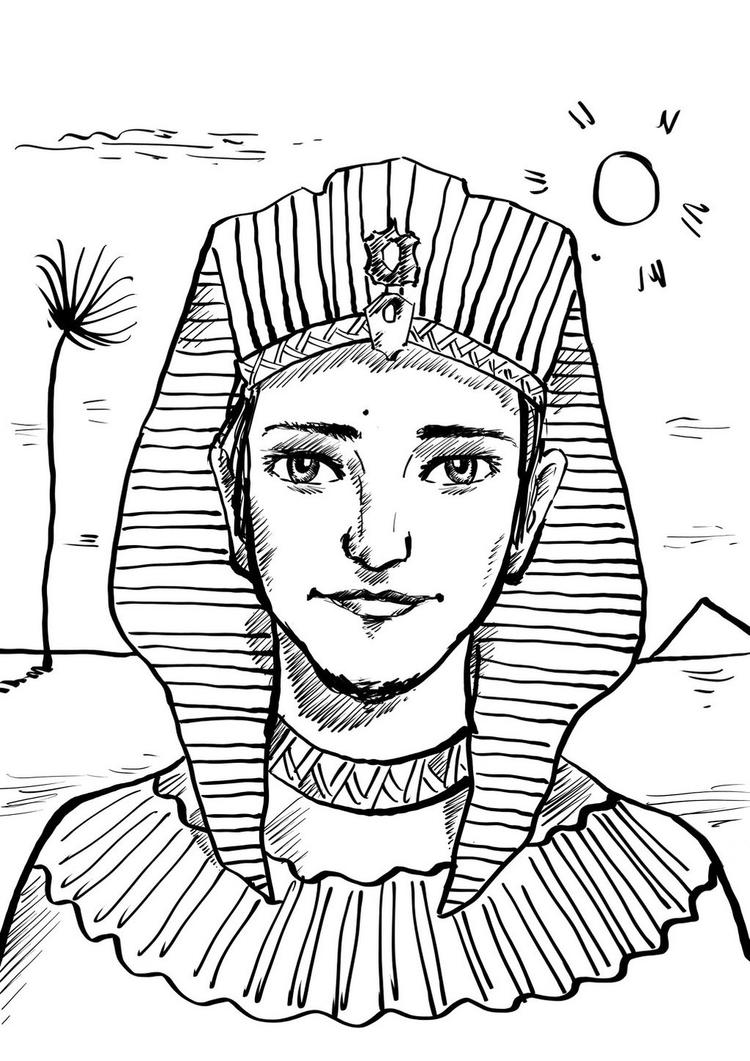 Ancient Egypt Coloring Pictures