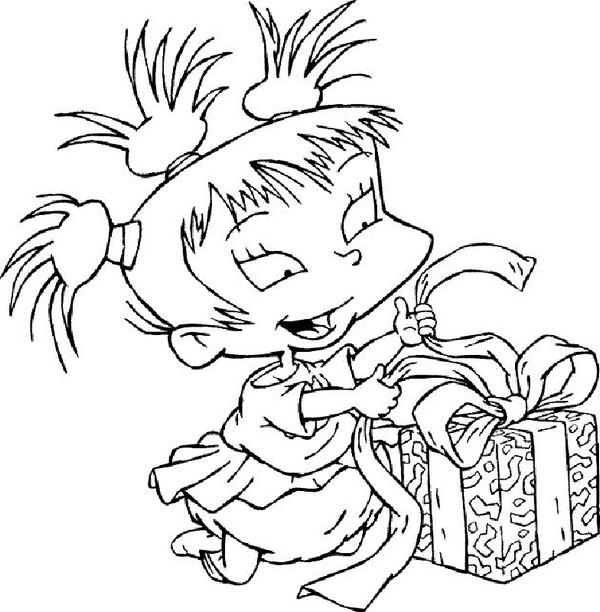 Angelica From Rugrats Characters Coloring Pages - Coloring Ideas