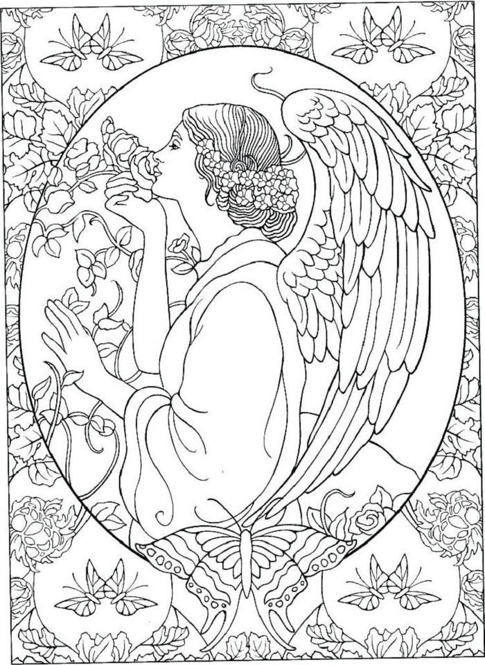 Angels Coloring Pages Printable