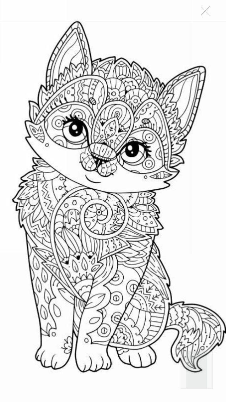 Animal Coloring Pages For Adults Puppy