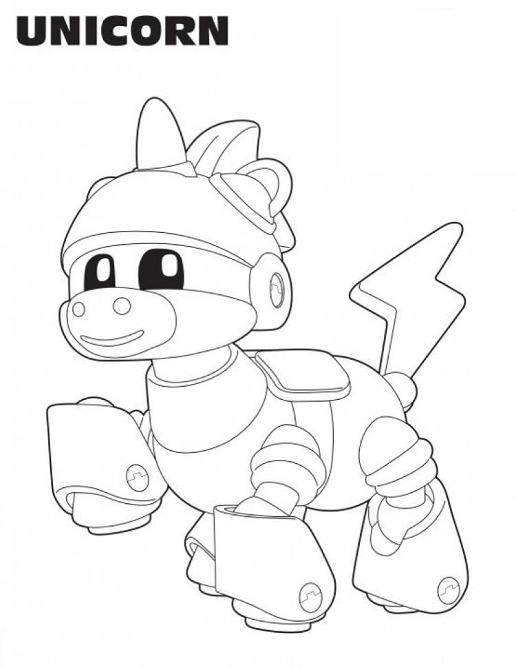 Animal Mechanicals Coloring Pages