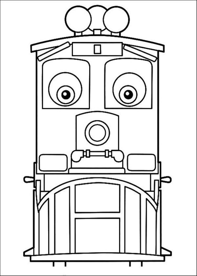 Animated Chuggington Coloring Pages
