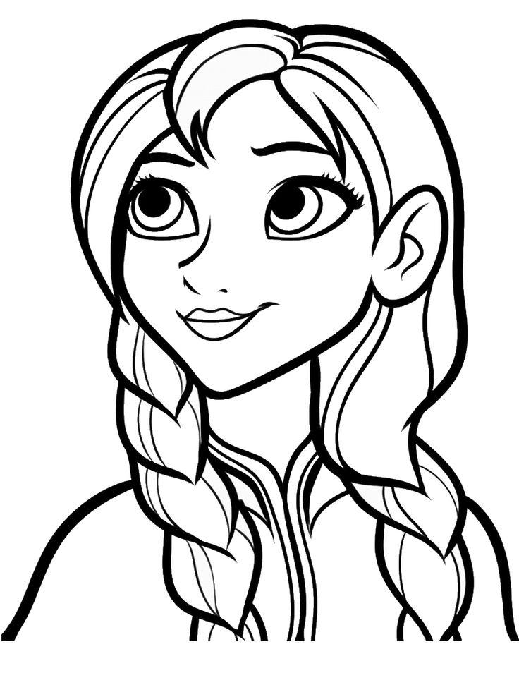 Anna Coloring Pages Free To Print