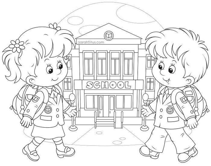 Authentic Back To School Coloring Pages