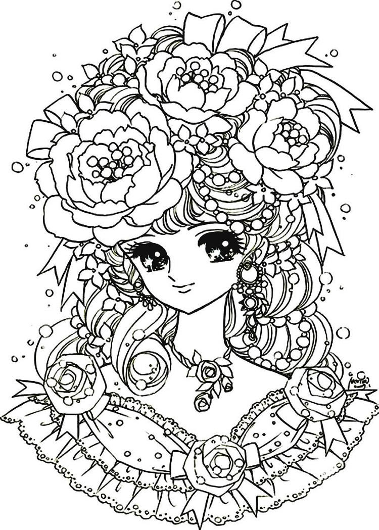 Awesome Flower Coloring Pages