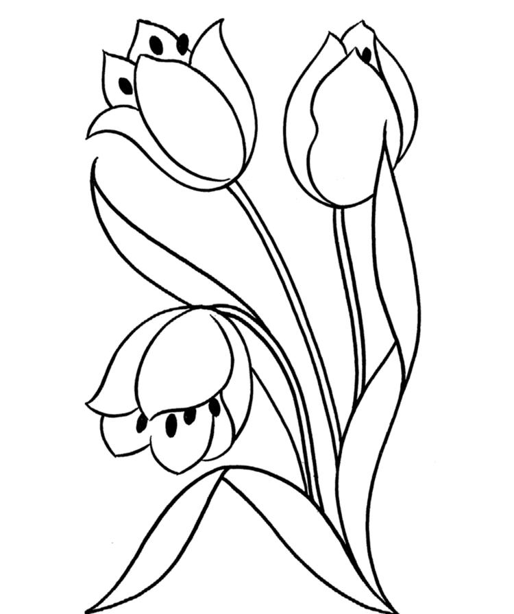 Awesome Flowers Coloring Pages