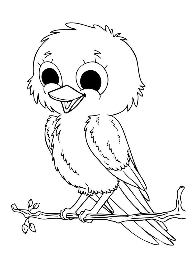 Babytoddler Animal Coloring Pages