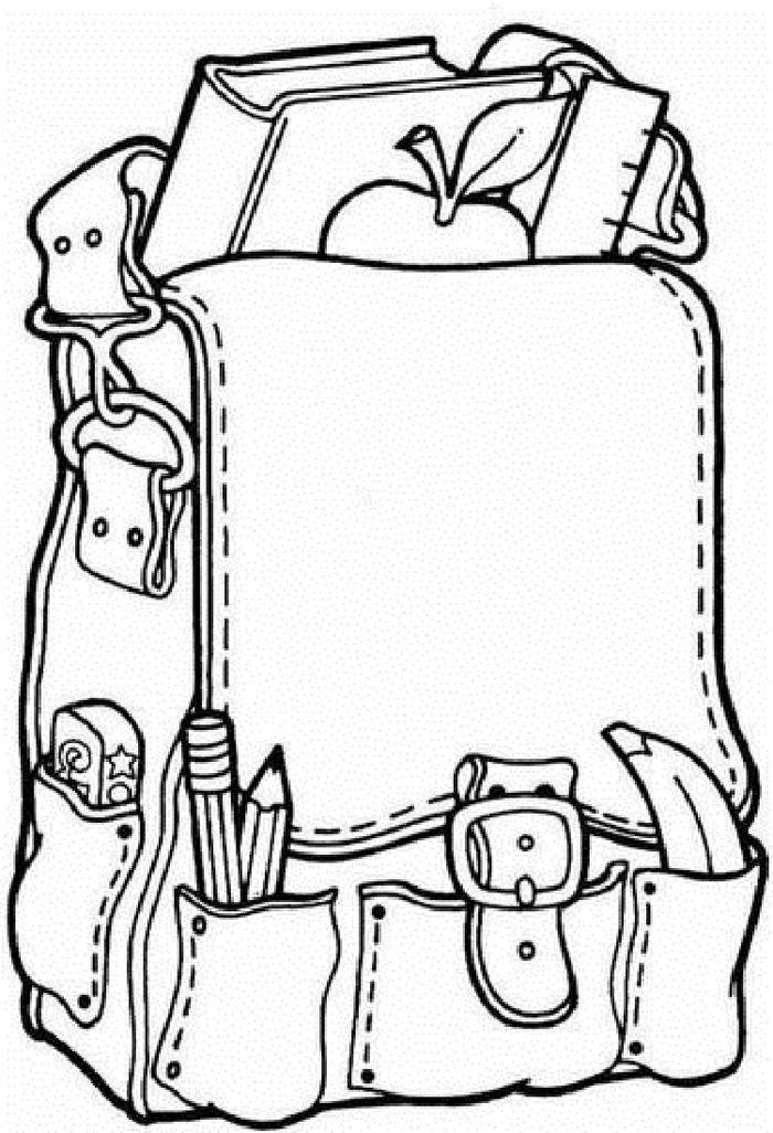 Back To School Coloring Pages For High School
