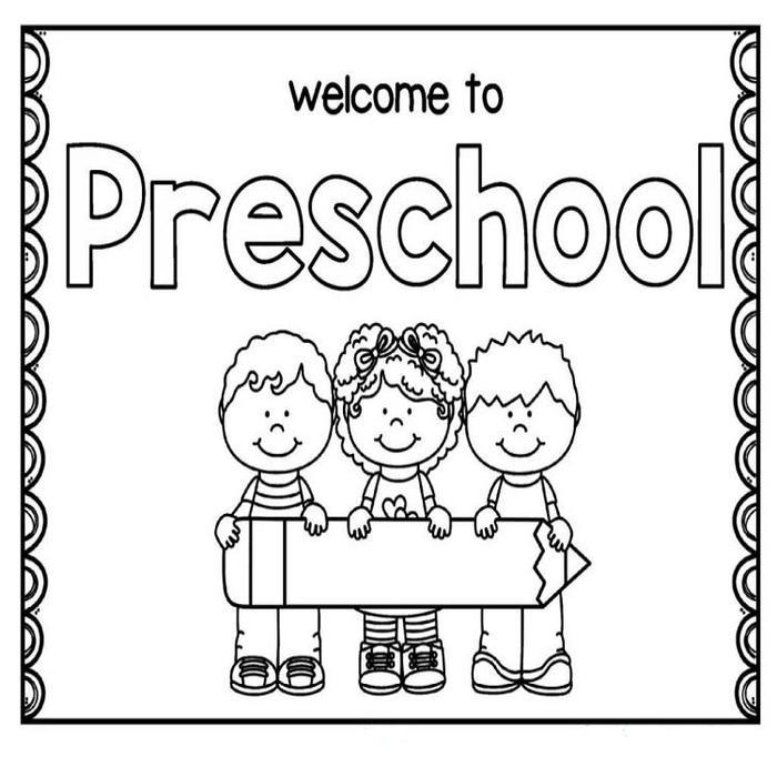 Back To School Coloring Pages For Preschool