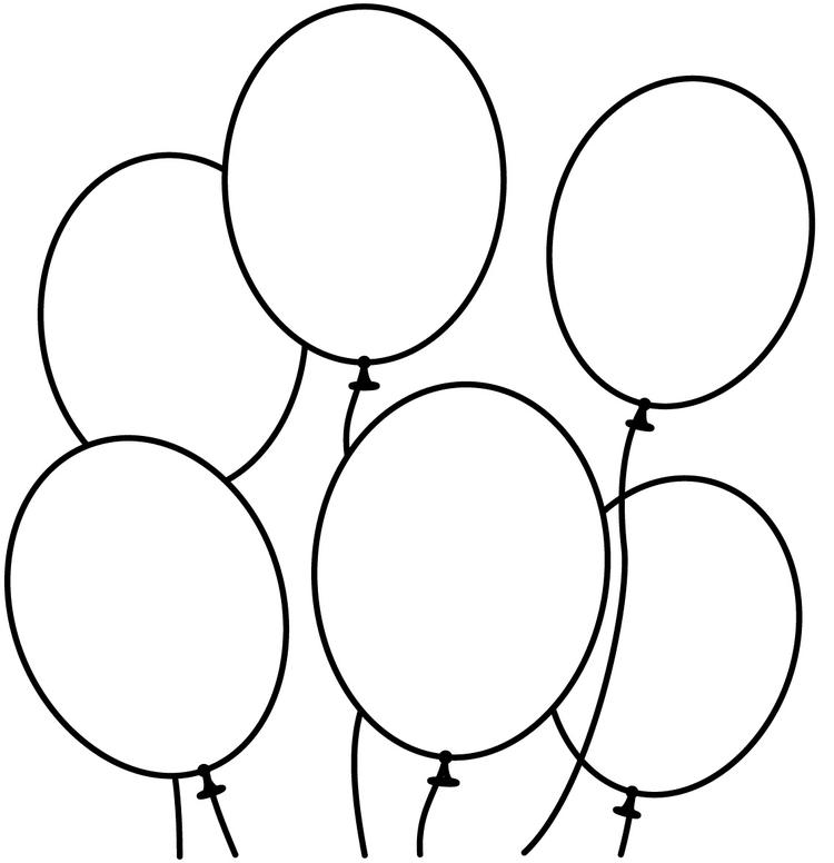 Balloon Coloring Pages Free To Print