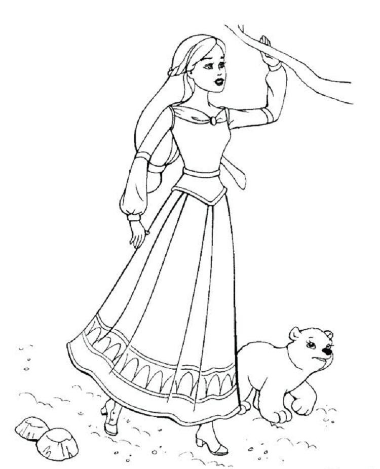 Barbie Coloring Pages Games Free