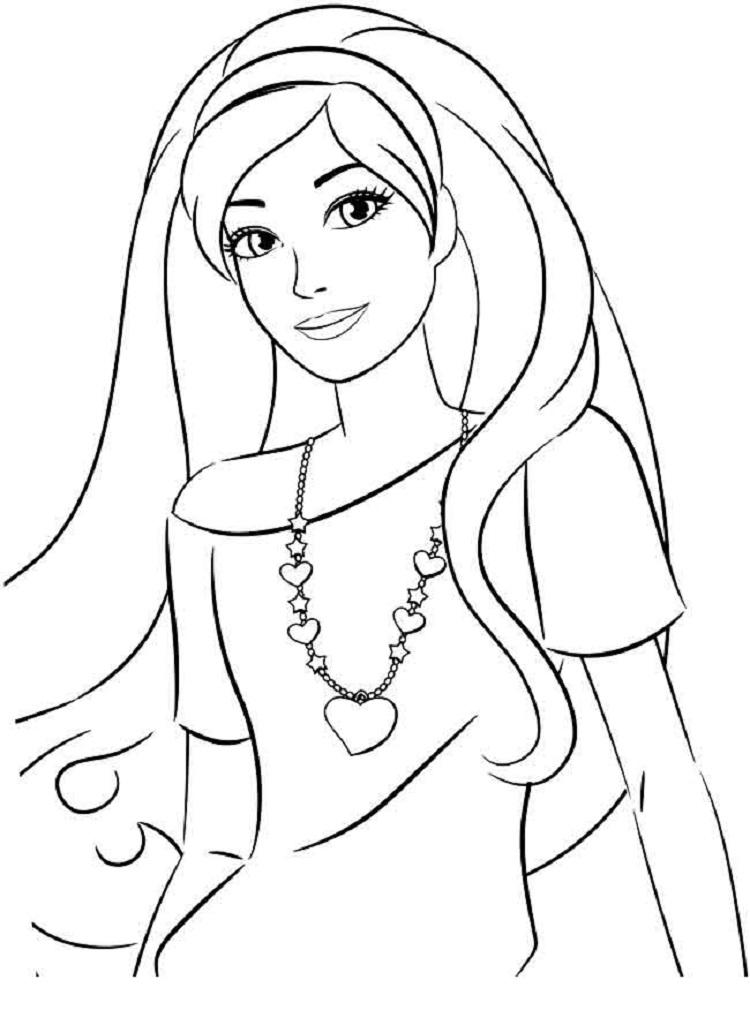 Barbie Coloring Pages You Can Print