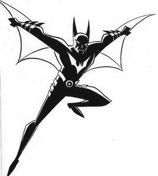 Batman Beyond Coloring Pages For Child 2