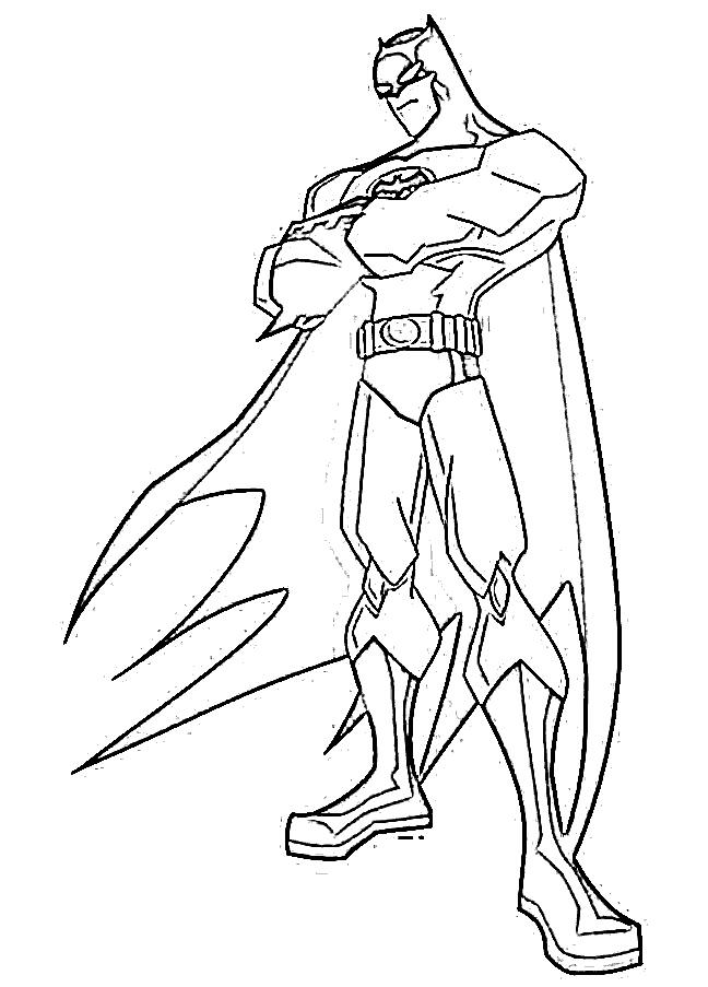 Batman beyond coloring pages to print out