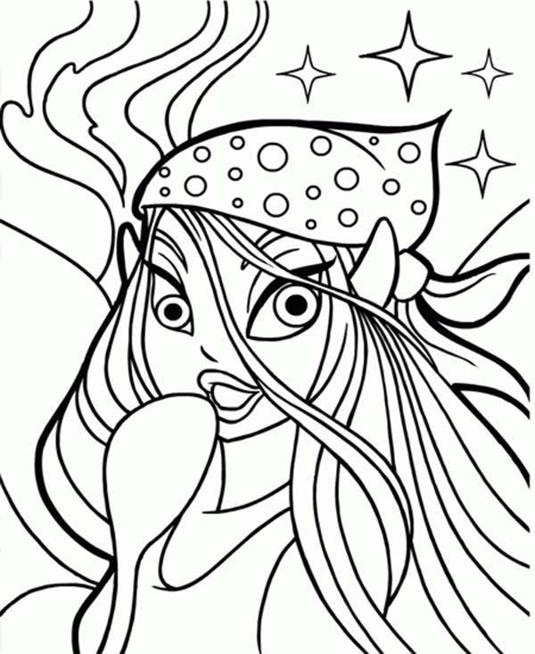 Beautiful Faerie Neopets Coloring Pages