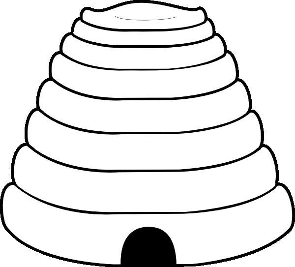 Bee Coloring Pages Beehive