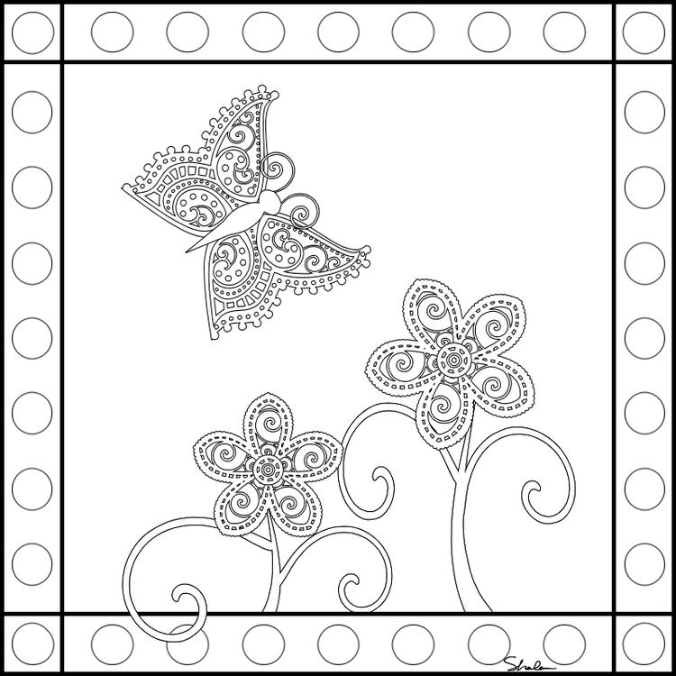 Best Adult Coloring Pages Printable Butterfly