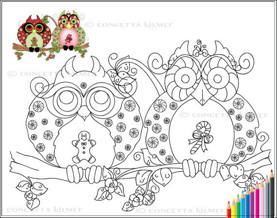 Best Adult Coloring Pages Printable Owl 1