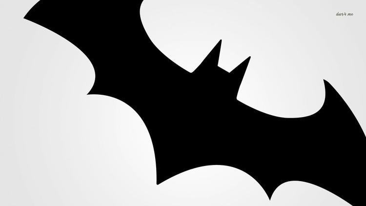 Best Batman Logo Coloring Page 1