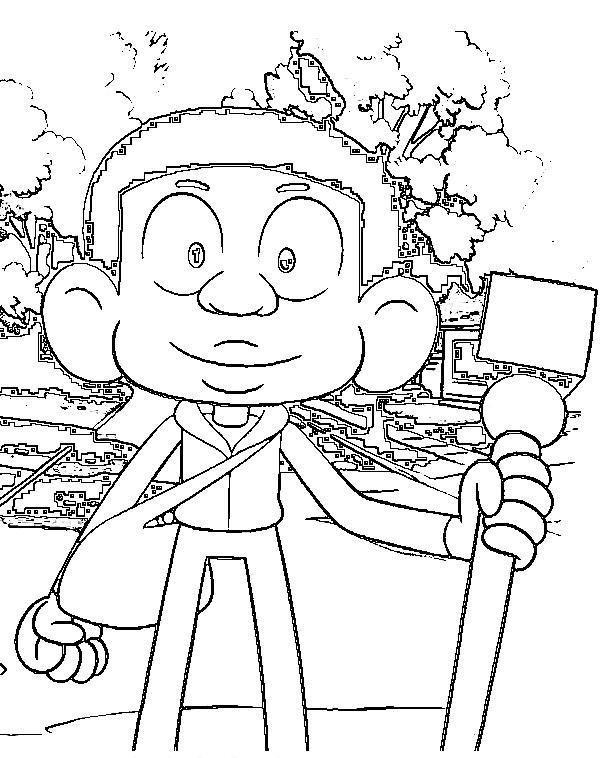Best Craig Williams Of Craig Of The Creek Coloring Page