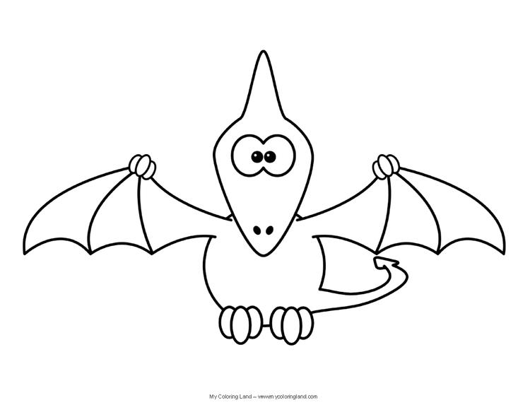 Best Cute Dinosaurs Coloring Pages
