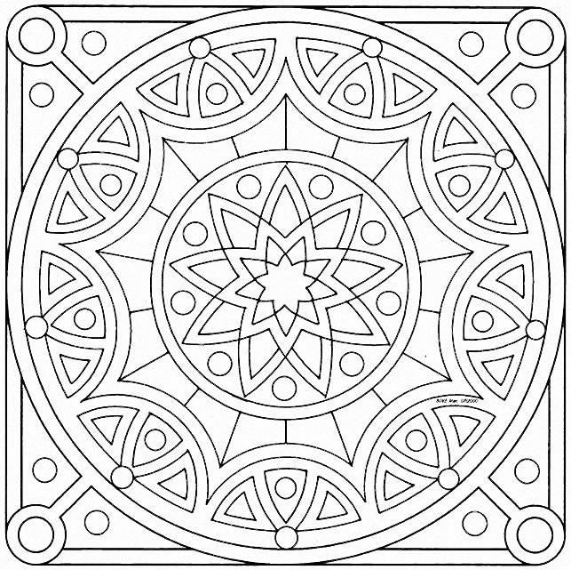 Best Free Mandala Coloring Pages 3