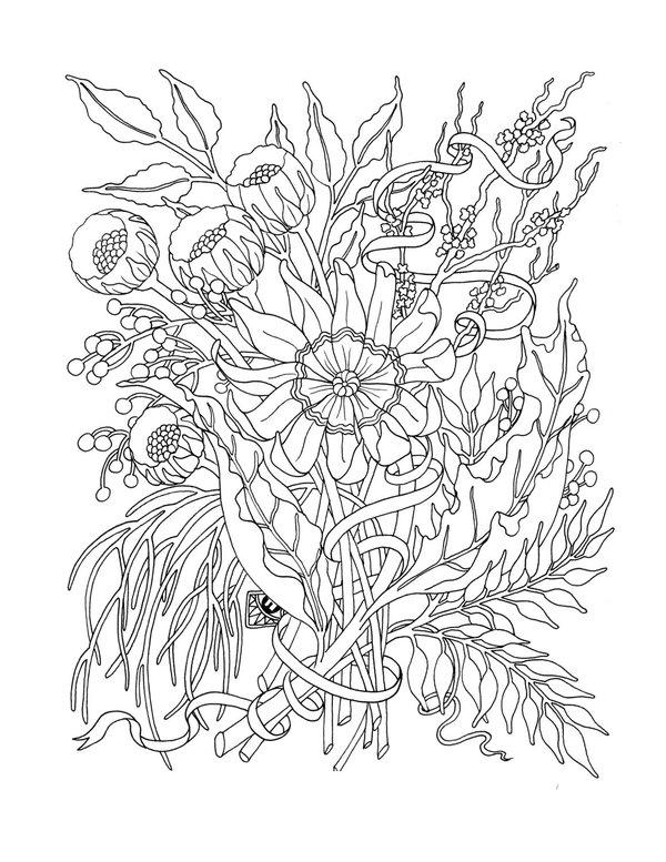Best Free Printable Adult Coloring Pages 1