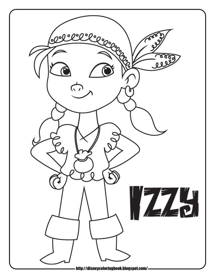 Best Jake And The Neverland Pirates Coloring Pages