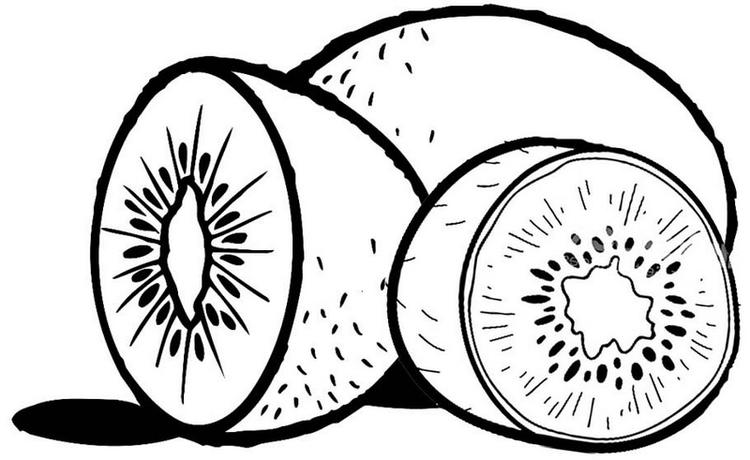 Best Kiwi Coloring Page