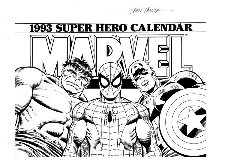Best Marvel Coloring Pages Spiderman
