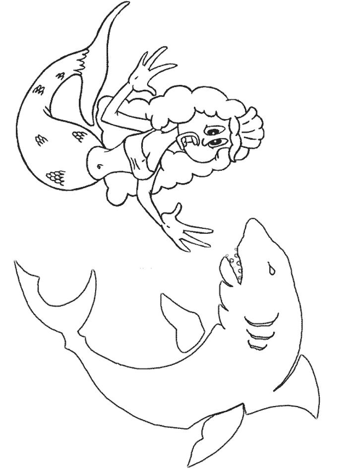 Best Mermaid Dolphin Coloring Pages