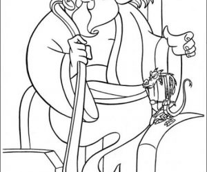Best mulan and mushu coloring pages