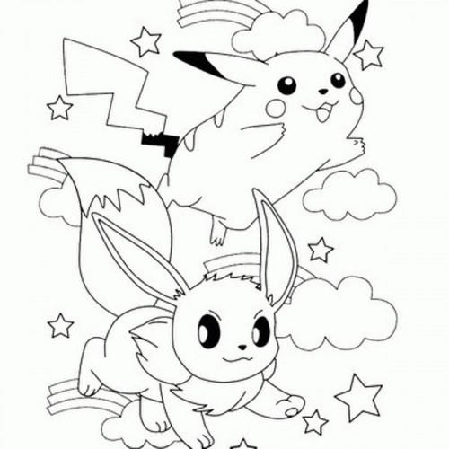 Best Pokemon Coloring Pages Pikachu 1