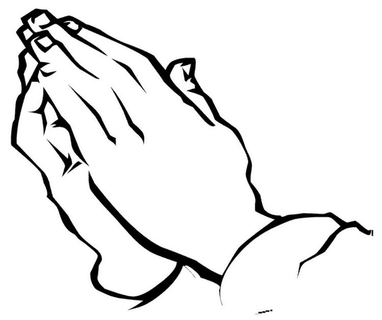 Best Praying Hands Coloring Page
