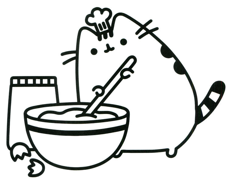 image about Pusheen Coloring Pages Printable known as Least complicated Pusheen Coloring Envision For Youngsters - Coloring Strategies