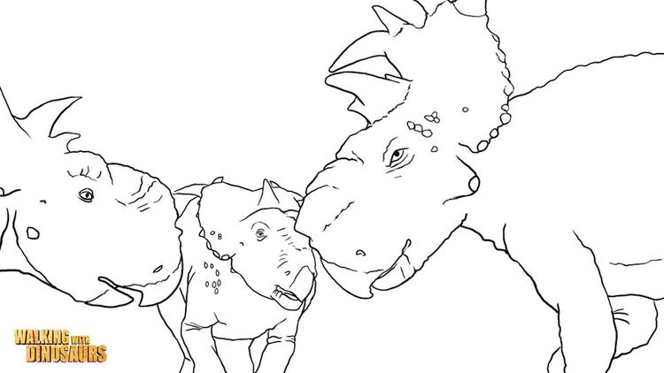Best Realistic Dinosaurs Coloring Pages