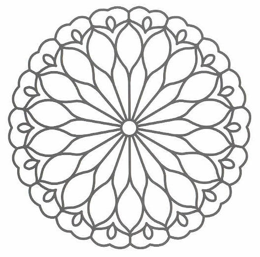Best Simple Mosaic Coloring Pages 1